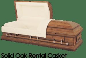 funeral home cremation costs 000028 solid oak rental casket